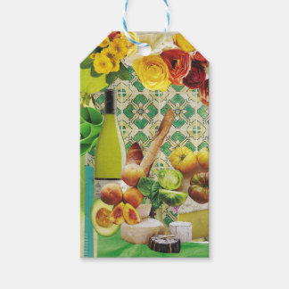 Green Mexican Tile Pack Of Gift Tags
