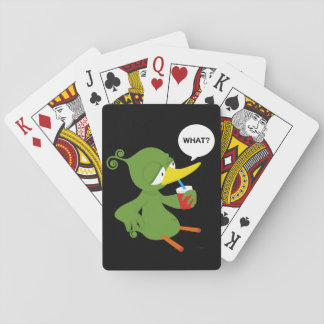 Green (Midori) juice Playing Cards