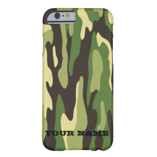Green Military Camouflage Barely There iPhone 6 Case
