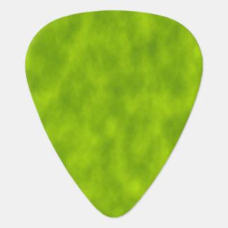 Green Mist/Haze/Fog-Like Pattern Guitar Pick