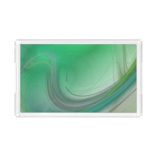 Green Mist Perfume Tray