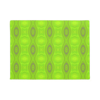 Green Mod Pattern Doormat