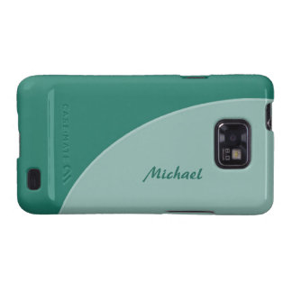 Green Modern Samsung Galaxy Cases