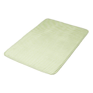 Green-Modern-Fresh-Fabric's-Bath-Bedding-Rugs Bath Mat