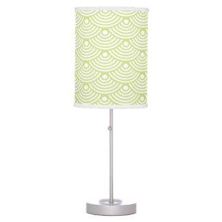 Green Modern Wave Table Lamp