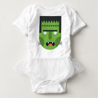 Green Monster Baby Bodysuit