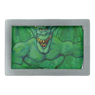 Green Monster Belt Buckles