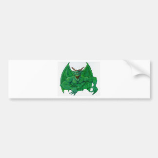 Green Monster Bumper Sticker