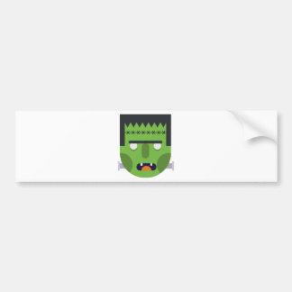 Green Monster Bumper Sticker