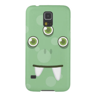 Green Monster Face Samsung Case Galaxy S5 Cases