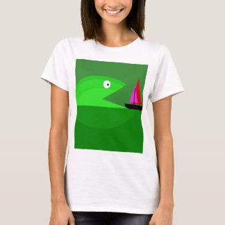 Green monster fish T-Shirt