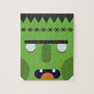 Green Monster Jigsaw Puzzle