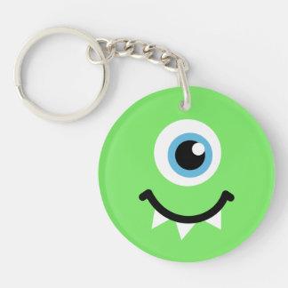Green monster keychain