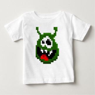 Green Monster - Pixel Art Baby T-Shirt