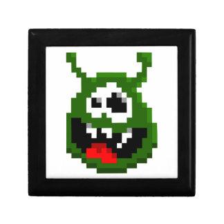 Green Monster - Pixel Art Gift Box