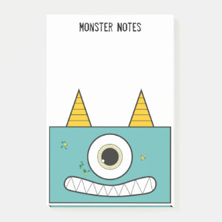 Green Monster Post it notes