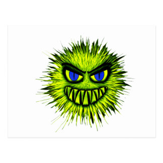 Green Monster Postcard