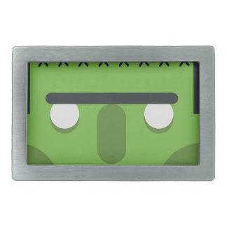 Green Monster Rectangular Belt Buckles