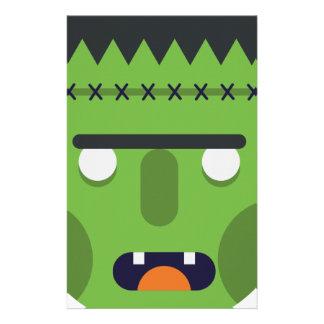 Green Monster Stationery