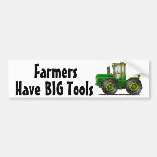 """Green Monster Tractor, Have BIG T... Bumper Stick Bumper Sticker"