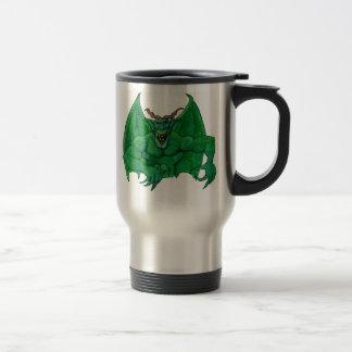Green Monster Travel Mug