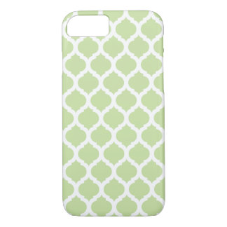 Green Moroccan Pattern iPhone 7 Case