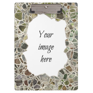 Green Mosaic Frame Clipboards
