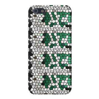 Green mosaic / Mosaico verde iPhone 5/5S Cases