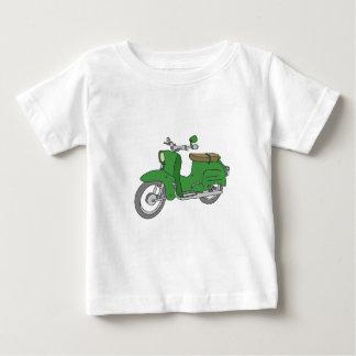 "Green Motorscooter ""Schwalbe"" Baby T-Shirt"