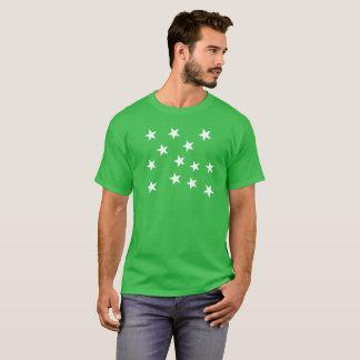 Green Mountain Boys Flag - Just Stars T-Shirt