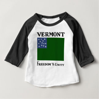 Green Mountain Boys Flag of the Vermont Republic Baby T-Shirt