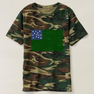 Green Mountain Boys Flag of the Vermont Republic T-shirt