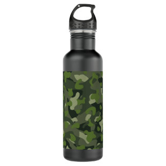 Green mountain disruptive camouflage 710 ml water bottle