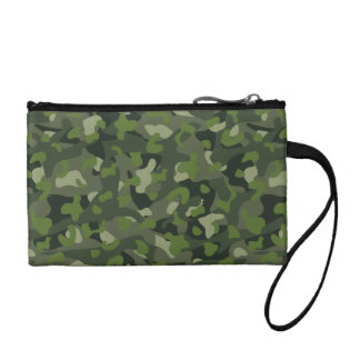 Green mountain disruptive camouflage coin wallets