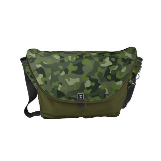 Green mountain disruptive camouflage commuter bag