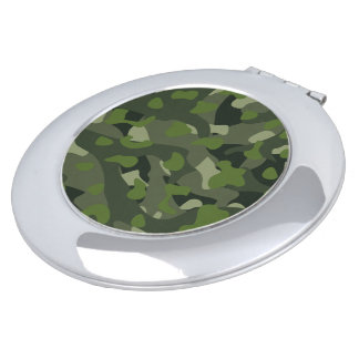 Green mountain disruptive camouflage compact mirrors