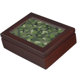 Green mountain disruptive camouflage keepsake box