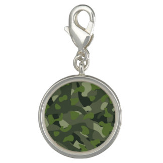 Green mountain disruptive camouflage photo charms