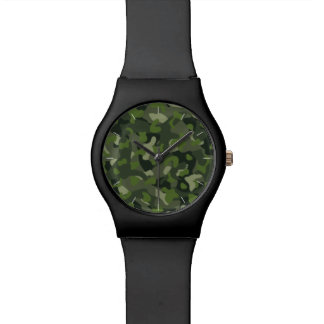 Green mountain disruptive camouflage watch