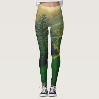 Green Mountain Leggings