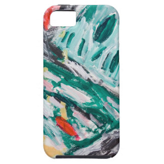 Green Mountain Rapids (abstract landscape) iPhone 5 Cover