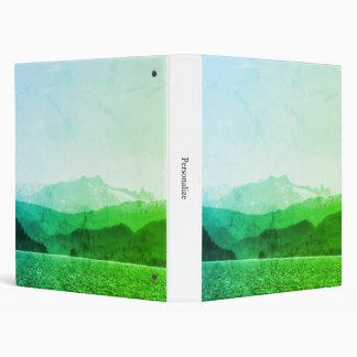 Green Mountains Binder