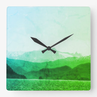 Green Mountains Clock