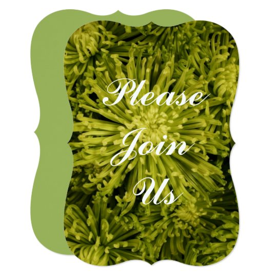 Green Mum Invitation, New Address, Thank You Cards