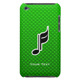 Green Music Note iPod Touch Cover