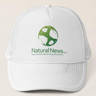 Green Natural News Trucker Cap