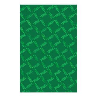 Green Nature Customized Stationery