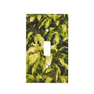 Green Nature Light Switch Cover