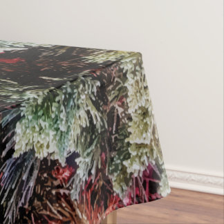 Green Nature Print Design Cool Tablecloth