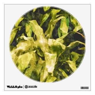 Green Nature Wall Sticker